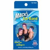 Mack's Ear Band Swimming Headband - Keeps Earplugs in whilst swimming